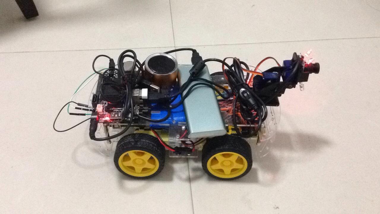 Cubieboard 智能小车 2.0 版